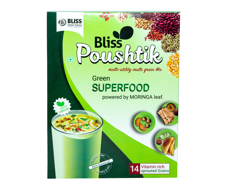 Bliss Poushtik -Multi  Utility , Multi Grain powder- 400 Gms