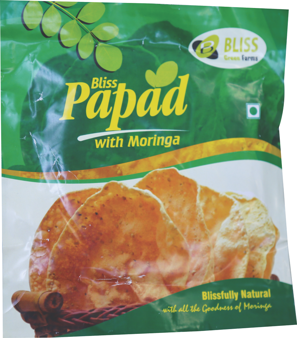 Bliss Moringa Papad(100 Gms)
